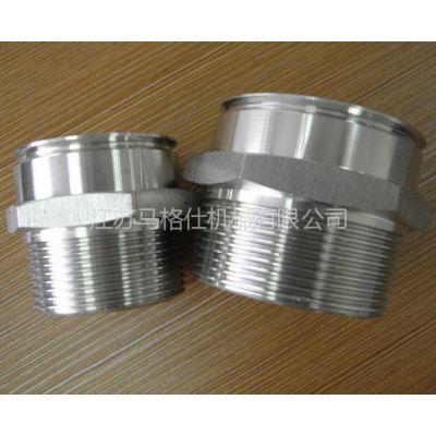 供应厂家直供304不锈钢六角接头,紧固配件,管件