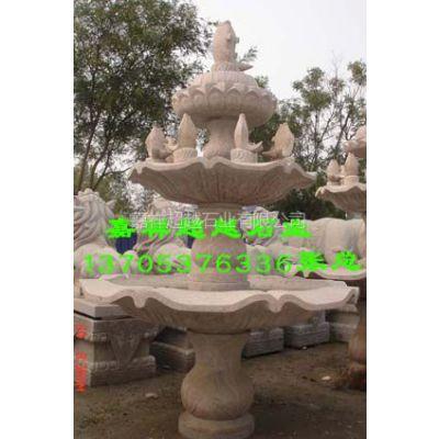 供应喷泉石雕图片 音乐喷泉热卖