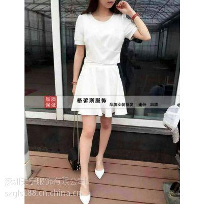 深圳格蕾斯女装品牌折扣尾货批发三标齐全质量保证
