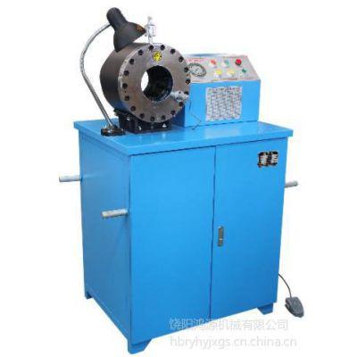 供应DSG250C锁管机厂家价格,DSG250C大口径压管机,DSG250C新型高压胶管扣压机
