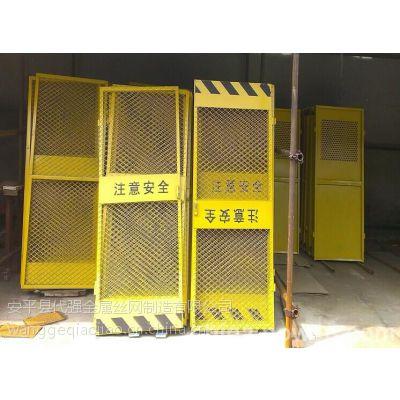 施工电梯防护门@河南商丘施工电梯防护门@施工电梯防护门图片