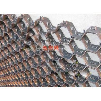 供应蓝泽不锈钢龟甲网(大型窑炉管道耐磨衬里,耐火材料)