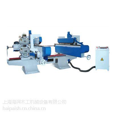 供应上海自动木工双端铣 双端开榫 开槽机