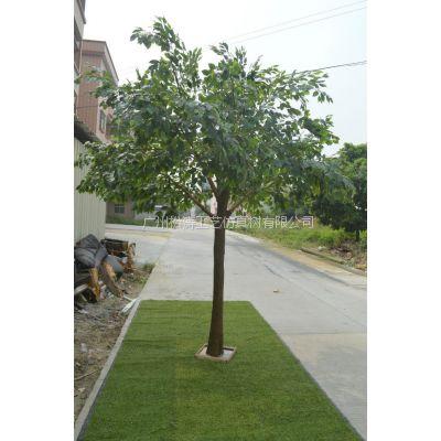 仿真榕树 广州仿真植物厂家 定做假榕树 玻璃钢假树