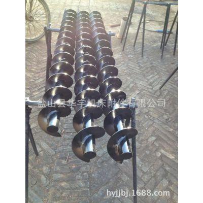 华宇厂家直供螺旋输送机叶片 290-89-200方钢螺旋杆 卷屑轴