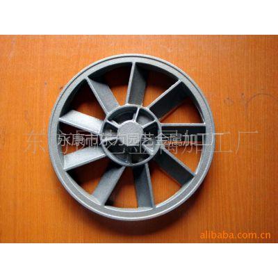 供应气泵传动合金铸铁风叶轮   皮带轮