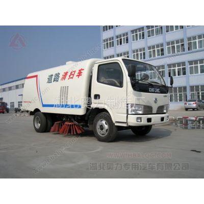 供应东风福瑞卡小型扫路车 东风福瑞卡77.5马力副发动机 小型扫路车价格