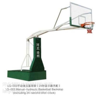 工厂现货直销手动液压篮球架货源充足发货更快