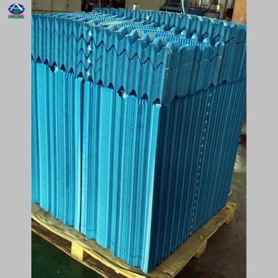 大型中央空调循环冷却水塔散热胶片多钱一片 河北华强