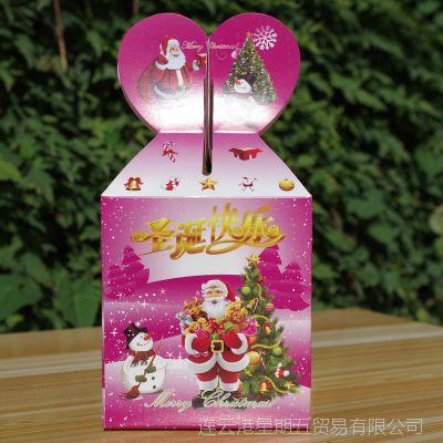 批发苹果盒 圣诞节苹果包装盒平安夜平安果盒包装盒 礼盒特价