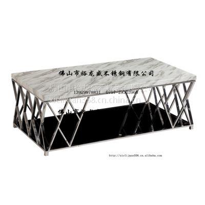 供应不锈钢家具 不锈钢个性餐桌 不锈钢镂空桌