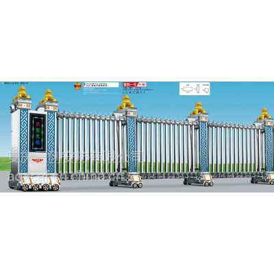 安庆开发区电动门 电动伸缩门厂家直销 工厂大门