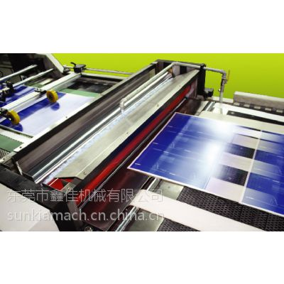 供应供应鑫佳1200型XJB-4 全自动高速厚薄纸两用UV上光机