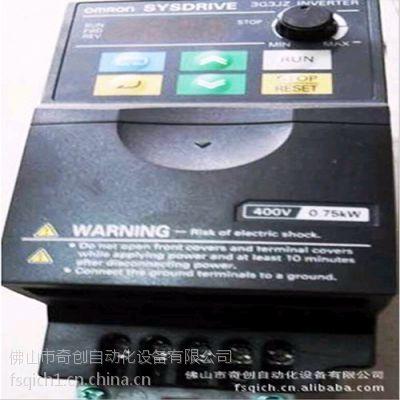 供应欧姆龙变频器3G3JZ-A4022 简易型智能变频器