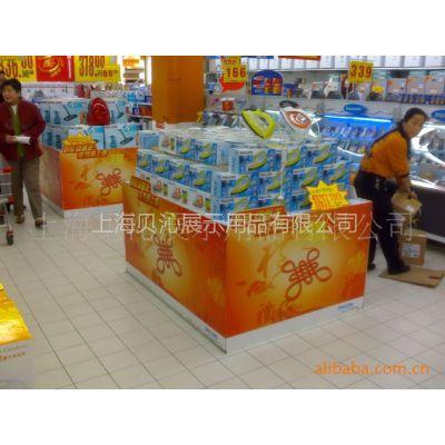 供应加工 超市地堆 超市展示架 组合展示台 食品展示架 可出图设计