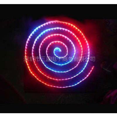 供应批发LED防水绝缘SMD505进口芯片七彩灯条,高品质灯带