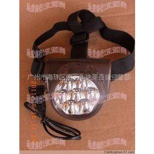 供应充电式LED头灯/超亮度充电式一体头灯/矿灯/野外作业灯/钓鱼灯