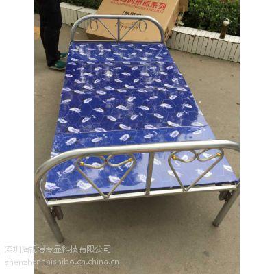 郑州折叠床 午休床 午睡床 1.2米款折叠床LW-ZD12,四折加厚床 送货 包邮