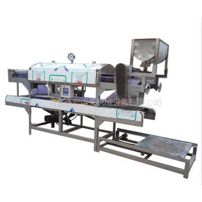 全自动豆腐皮机 不锈钢材质干豆腐设备 仿手工豆腐皮加工设备直销
