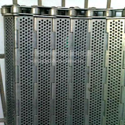 不锈钢耐高温烘干机链板多少钱一米 乾德链板厂家报价