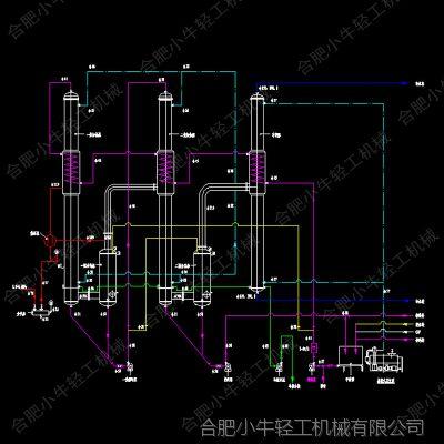 双效降膜浓缩器_降膜蒸发浓缩器_单效降膜蒸发器_葡萄糖浓缩器