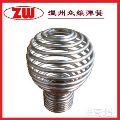 优价供应球型不锈钢压缩弹簧 支撑高强度压簧 厂家直销