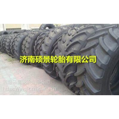 正品三包泰山拖拉机车轮胎9.5-32窄人子花纹轮胎加钢圈报价