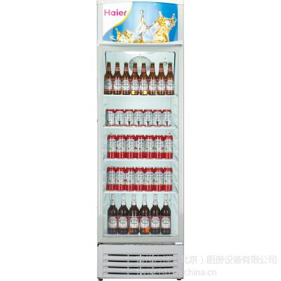 供应海尔单门立式商用冷藏柜  SC-340JA 海尔冷藏冰箱 饮料展示柜