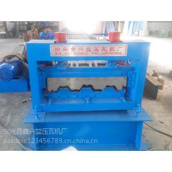 720型楼承板压型设备机彩钢瓦机兴益压瓦机厂