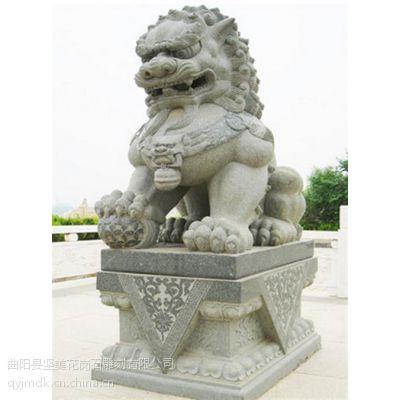 坚美花岗岩雕刻(图) 石雕狮子报价 石雕狮子