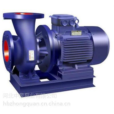 管道泵型谱图、中泉泵业、冷热水循环管道泵