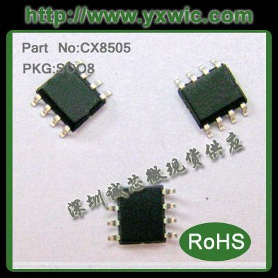 CX8825 同步整流车充芯片带EN脚 QC2.0 3.0快充 高性价比