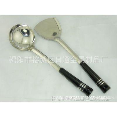 厂价直销 不锈钢1.5厘三线汤勺锅铲 厨房用具