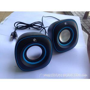 供应电脑音箱 USB迷你音箱 Q蛋 015 重低音 笔记本音箱 RISE 颜色随机