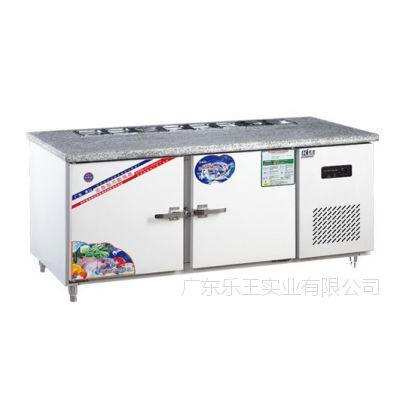 金菱平面工作台   三文治4*1/6冷藏工作台 厨房设备
