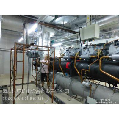 供应重庆美的工厂车间中央空调管道移位,增加风口,增加盘管,增加管道