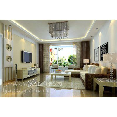 紫金新干线二期114平C1户型装修设计方案-实创整体家装