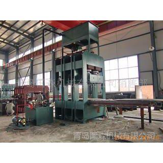 供应青岛国森专利-重竹地板设备压机械