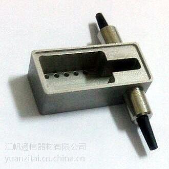 江帆通信 优质光开关SUS 304不锈钢金属外壳 CNC数控加工
