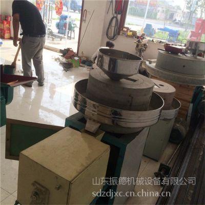 花岗岩石磨机 杂粮面粉石磨机 振德牌成套石磨面粉机价格
