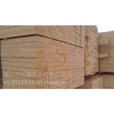 4米长白松板材/工程建筑用白松木跳板/吊顶木方