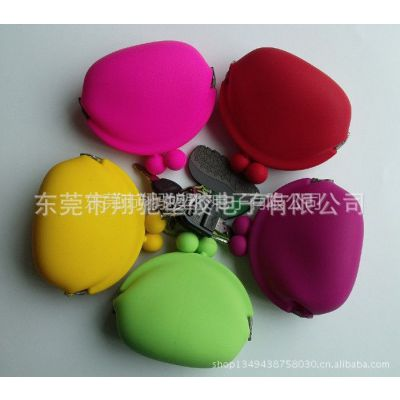 供应厂家批发供应C4糖果多色可选硅胶零钱包 硅胶女士小包,硅胶女士零钱包批发