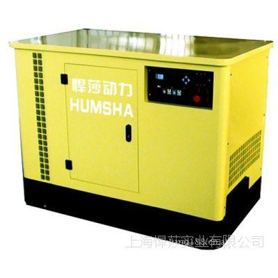 专业供应煤气勘探燃气发电机组 20kw悍莎燃气发电机组