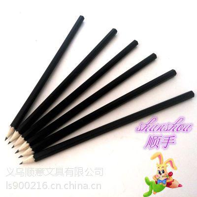 木质铅笔 HB铅笔 义乌铅笔厂家批发 六角杆铅笔 学生文具定制加工