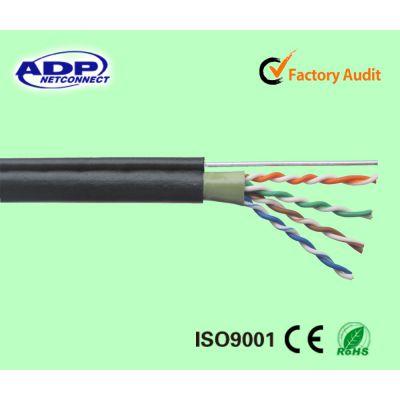 超五类纯铜室外阻水网线8芯双绞无氧铜网线 国标过测试双绞线305米 奥德普厂家直销