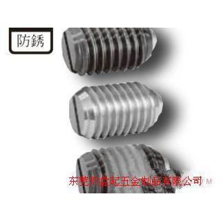 供应一字槽波珠螺丝/不锈钢一字槽螺丝