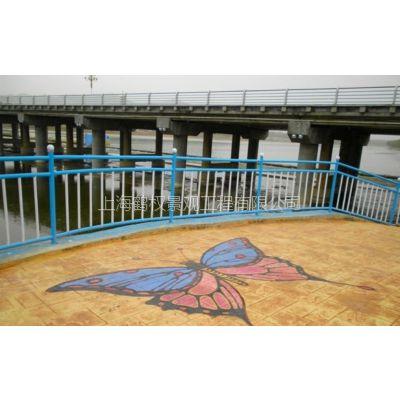 霍邱县压模地坪、彩色艺术地坪