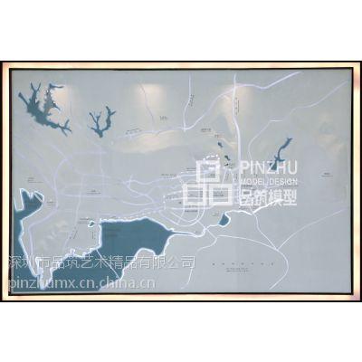 深圳品筑模型设计 华润银湖蓝山 背靠银湖山、相思林公园,南望笔架山。