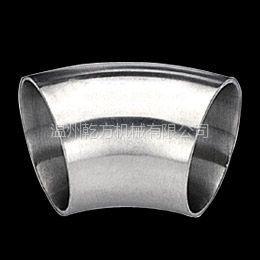 供应卫生级45°焊接式弯头