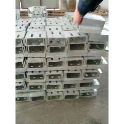 江苏耀荣 供应不锈钢/镀锌幕墙预埋件 连接件 电力钢件 镀锌钢插芯